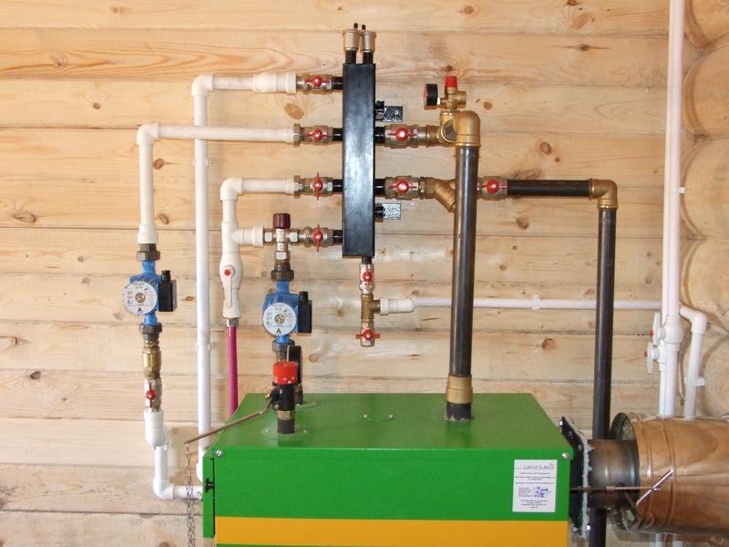 Монтаж системы отопления на